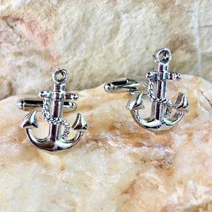 Anchor cuff links ⚓️